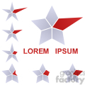 logo template star 001
