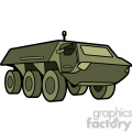military armored security vehicle