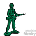 green toy infantry soldier illustration graphic