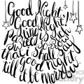 good night good night parting is such sorrow that i shall say good night till it be morrow  gif, png, jpg, eps, svg, pdf