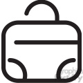 suitcase icon  gif, png, jpg, eps, svg, pdf