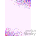 shades of pink pixel vector brochure letterhead background template  gif, png, jpg, svg, pdf