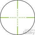 vector reticle aim sight green ir mil dot image  gif, png, jpg, eps, svg, pdf