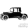 old vintage distressed cabriolet car retro vector design vintage 1900 vector art GF
