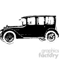 old vintage distressed sedan car retro vector design vintage 1900 vector art GF