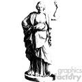 Bernardino Genga human statue art