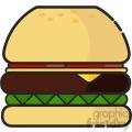 Burger clip art vector images