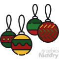 christmas decoration vector icon