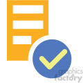 data integrity vector icon