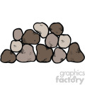 stone vector clipart