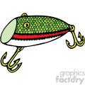fishing lure 002 vector image