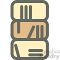 bookshelf furniture icon