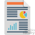 profit and loss vector flat icon