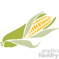 corn on the cob vector art