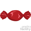 piece of candy vector flat icon clipart with no background