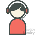 tech support vector icon