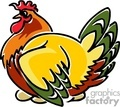 rooster roosters   anmls032c clip art animals  gif, jpg