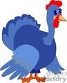 blue turkey