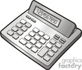 calculator calculators accounting accounted accountant financial  cac2 clip art business  gif, jpg