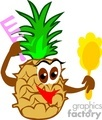 pineapple character