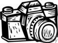 Black and White professional Photographers Camera