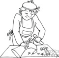 occupations work working occupational shoe maker repair   working_069-b clip art people occupations  gif