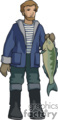 occupations work working occupational fish fisherman fishermen fishing   working_054-c clip art people occupations