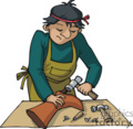 occupations work working occupational shoe maker repair   working_069-c clip art people occupations  gif