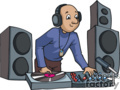 cartoon music dj gif
