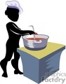 shadow people work working occupations chef cook cooking   occupation081 clip art people occupations  gif, jpg, eps