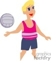 volleyball volleyballs player players   1004volleyball005 clip art sports volleyball  gif, jpg