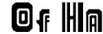 adriator font vector clip art image