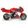 motor cycle motorcycle motocycle small mini red racing competition   2m0004lowres photos objects