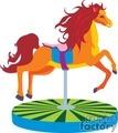 carousel horse009