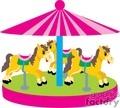 carousel horse001