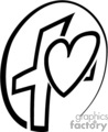 vector clip art vinyl-ready cutter black white medical health heart hearts symbol gif, png, jpg, eps