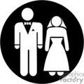 wedding couple sign