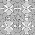 Tiled flower background vector clip art image