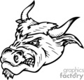 vector vinyl ready vinyl-ready signage logo logos mascot mascots designs black white clip art images graphics clipart art bull bulls tattoo tattoos gif, png, jpg, eps