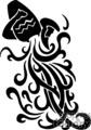 Aquarius water symbol