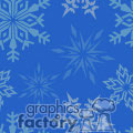 Snowflake tiled background