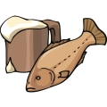 beer and fish. gif, png, jpg