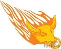 animal animals flame flames flaming fire vinyl-ready vinyl ready hot blazing blazin vector eps gif jpg png cutter signage bull bulls orange gif, png, jpg, eps