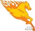 0002 flamboyant animals vector clip art image