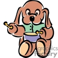 puppy playing the drums gif, png, jpg, eps