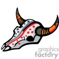 indian indians native americans western navajo bone bones skull skulls cattle vector eps jpg png clipart people gif gif, png, jpg, eps