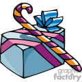 gift box and candy cane gif, png, jpg