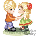 little boy and girl holding hands gif, png, jpg, eps