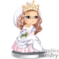 a little girl dressed like a princess gif, png, jpg, eps