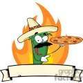 2897-Sombrero-Chile-Pepper-Holds-Up-Pizza-Banner